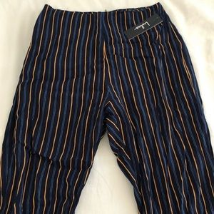 Striped Flowy Lulu's pants